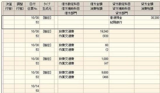 エクセル交通費管理ツール