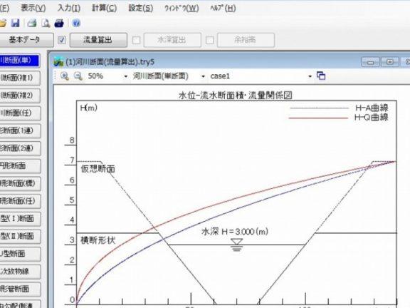 等流の計算ソフト
