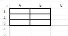 二重線の挿入例